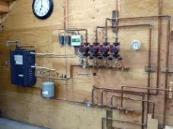 Hydronic system plumbing