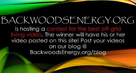 Backwoods Energy video contest advertisement